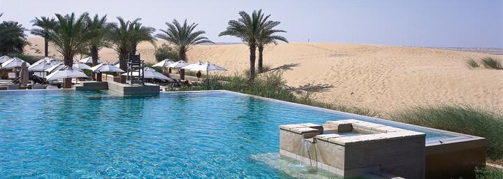 Infinity Pool Bab Al Shams Desert Resort & Spa Dubai Wüste