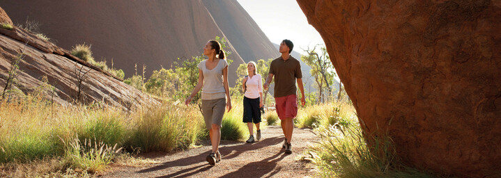 Ayers Rock Spaziergang