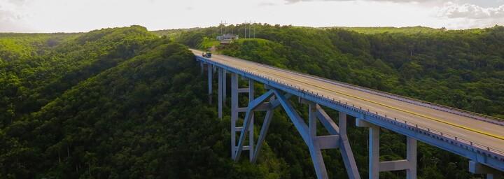 Kuba Brücke Varadero