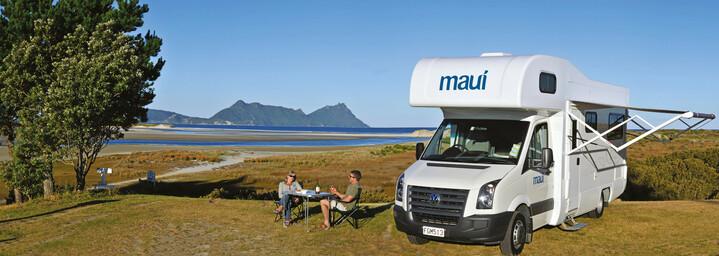 Maui Camper in Neuseeland