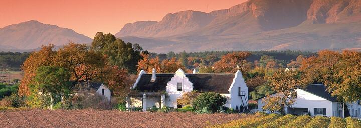 Weinregion im Hinterland Kapstadts