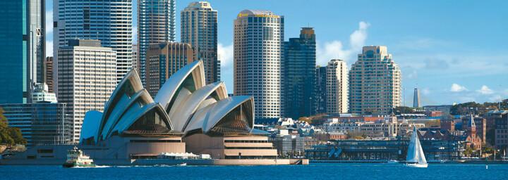 Außenansicht Shangri-La Hotel Sydney
