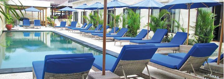 Kura Kura Beach Resort Pool Gili Meno