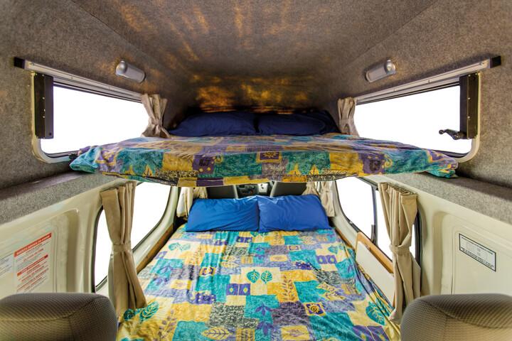Innenansicht des Hippie Endeavour