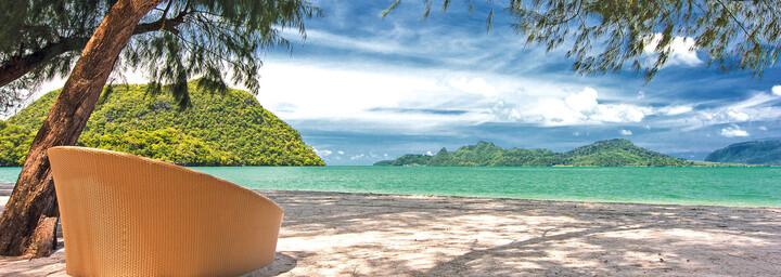 Privattstrand am The Westin Langkawi Resort & Spa