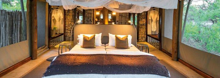 Onguma Tented Camp - Beispiel Zelt