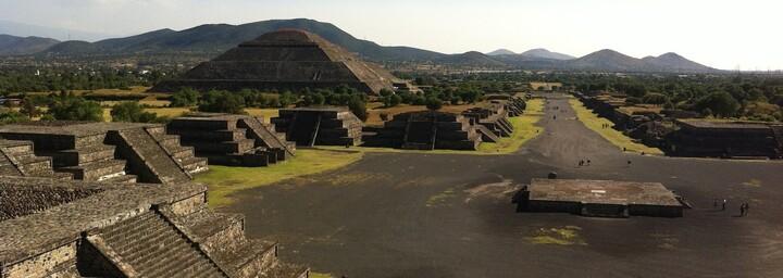 Ruinenstadt Teotihuacán Mexiko