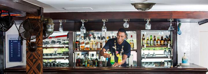 "Bar- Kreuzfahrtschiff ""MV Fiji Princess"" Blue Lagoon Cruises"