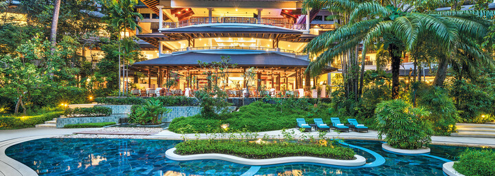 Pool des The Andaman - A luxury Collection Resort auf Langkawi