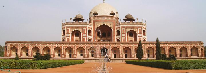 Humayun Grab in Delhi