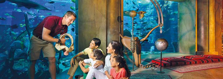 Aquarium - Atlantis The Palm Dubai
