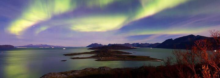 Nordlichter Arctic Panorama Lodge