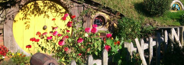 Reisebericht Neuseeland - Hobbiton Movie Set