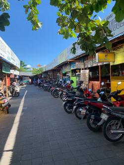 Reisebericht Bali Seminyak Straße