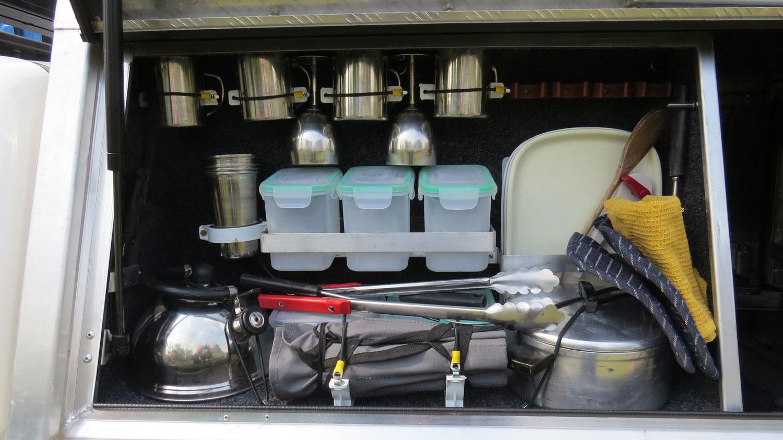 Bushlore Toyota Hilux 4x4 Safari Camper Küche