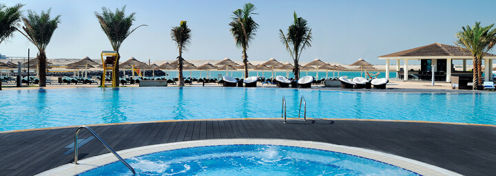 InterContinental Abu Dhabi Poolbereich