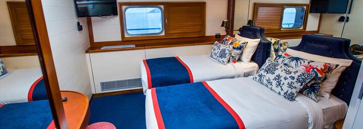 "Kabinenbeispiel - Kreuzfahrtschiff ""MV Fiji Princess"" Blue Lagoon Cruises"