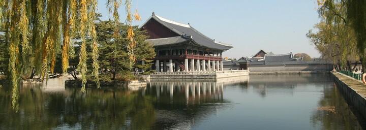 Gyeongbokgung Palast - Gyeonghoeru Festhalle