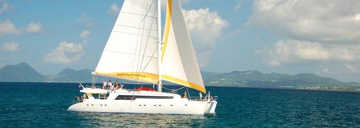 "Katamaran Segelkreuzfahrt ""Mojito 82"" auf den Seychellen"