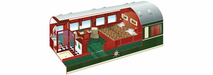 Deluxe Suite des Rovos Rail