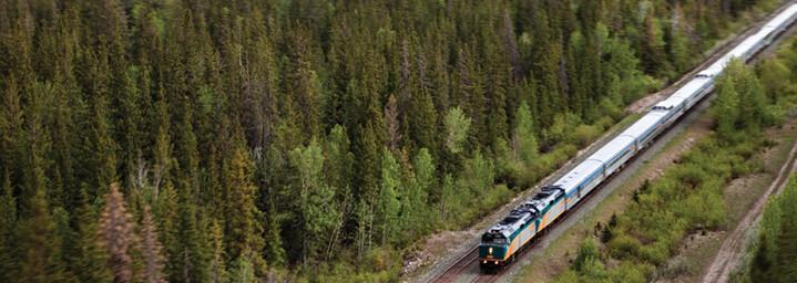 VIA Rail von oben
