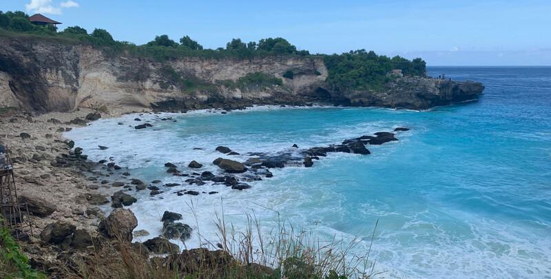 Reisebericht Bali Nusa Ceningan Blaue Lagune
