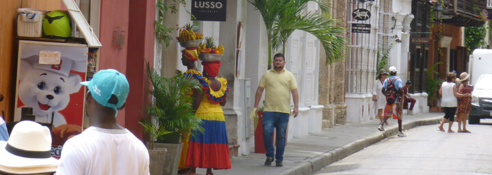 Cartagena Altstadt Kolumbien