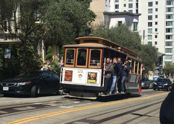 Reisebericht Kalifornien - Cable Car in San Francisco