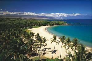 Kauna`oa Beach Big Island