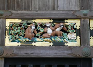 Reisebericht Japan: Shinto-Schrein Toshogu mit den drei Affen