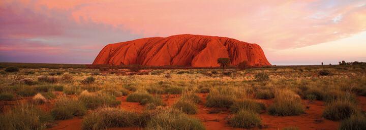 Ayers Rock Sonnenuntergang