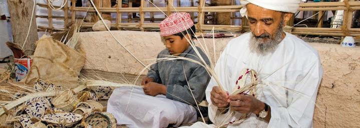 Menschen in Oman