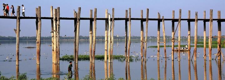 U-Bein-Teakholzbrücke