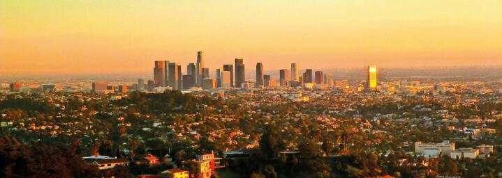 Los Angels Kalifornien Skyline