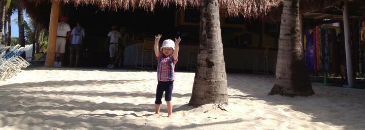 Florida Reisebericht - Am Strand von Cozumel