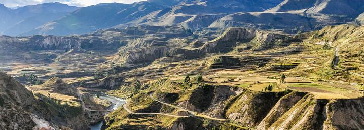 Colca Canyon - Terrassenlandwirtschaft