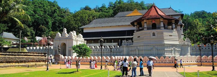 Zahntempel in Kandy, Sri Lanka