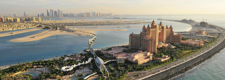The Palm Jumeirah - Atlantis The Palm Hotel