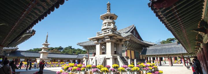 Bulkugsa Tempel in Gyeongju