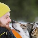 Aktiv im finnischen Winter
