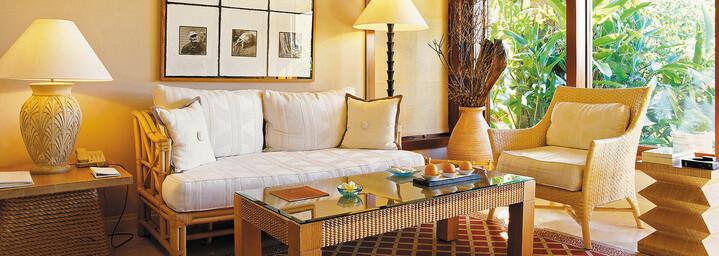 Luxury Pavillon Beispiel des The Oberoi Beach Resort, Mauritius