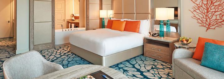 Beispiel Ocean-Deluxe-Zimmer Atlantis The Palm Dubai