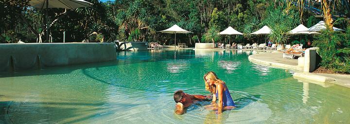 Pool - Kingfisher Bay Resort Fraser Island