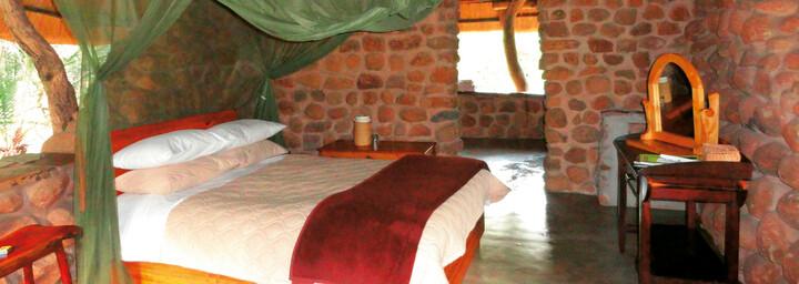 Zimmerbeispiel Stone Camp Mkhaya Game Reserve