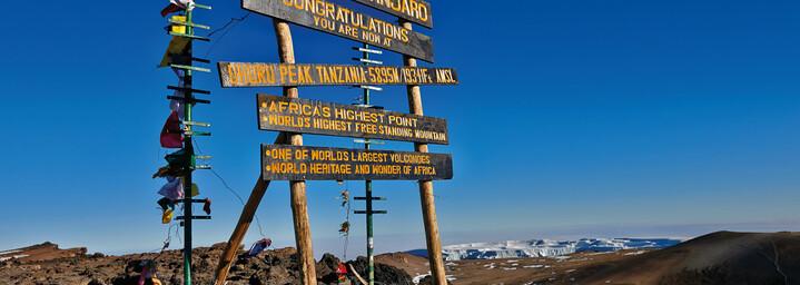 Gipfel des Kilimanjaros