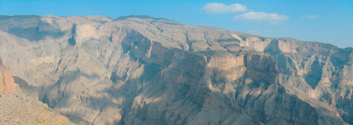 Jebel Shams Gebirge