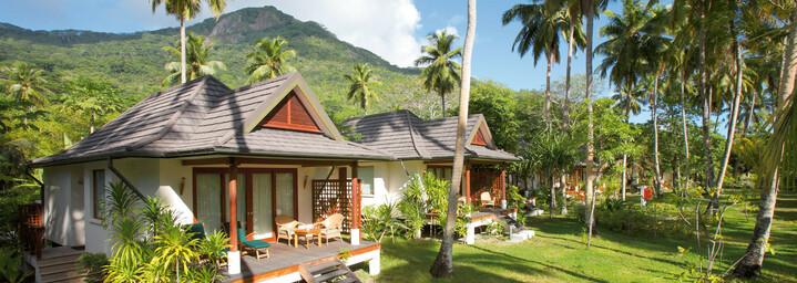 Hilton Seychelles Labriz Resort & Spa Beispiel Garden Villa Außenansicht