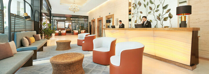 Lobby des Park Hotel Clarke Quay