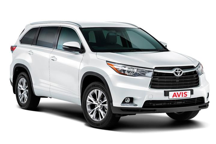 Avis Full Size SUV Toyota Highlander