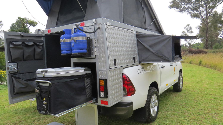 Bushlore Toyota Hilux Bushcamper Kühlschrank
